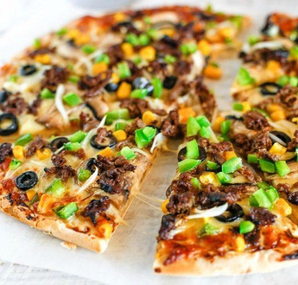 Bulgogi Beef Pizza