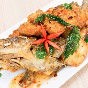 Dry fish delight